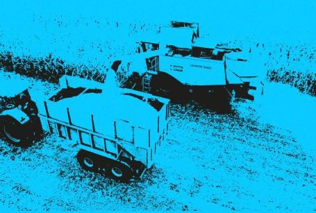Autonomous agricultural machine