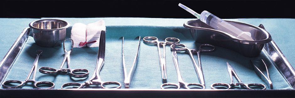 Scalpels in hospital use