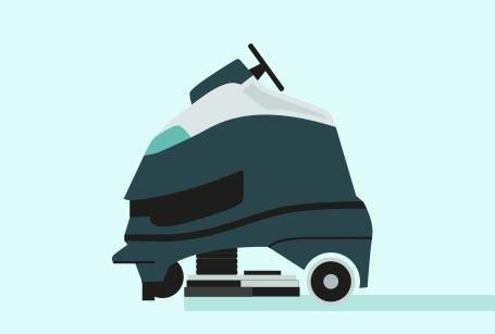 Reinigungsroboter von der Firma Nilfisk