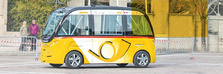 Autonomer Bus / Autonomous Bus - Seit über einem Jahr im Einsatz