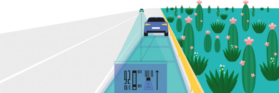 Radartechnik in autonomen Fahrzeugen / Radar technology in autonomous vehicles