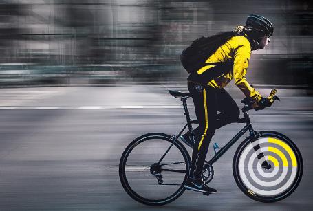Fahrradfahrer einer Smart City – Wir zeigen Projekte und Technologien hinter Smart Cities – What is Sigfox