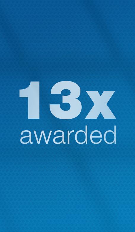 """Das Magazin """"The Quintessence"""" wurde bereits 13mal mit einem Award ausgezeichnet / The magazine """"The Quintessence"""" is awarded 13 times."""